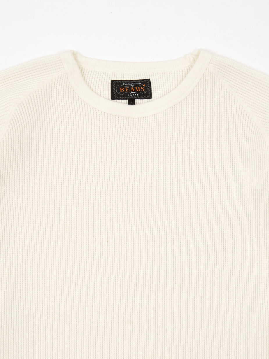 Beams Plus Beams Plus Thermal Crew - White - White