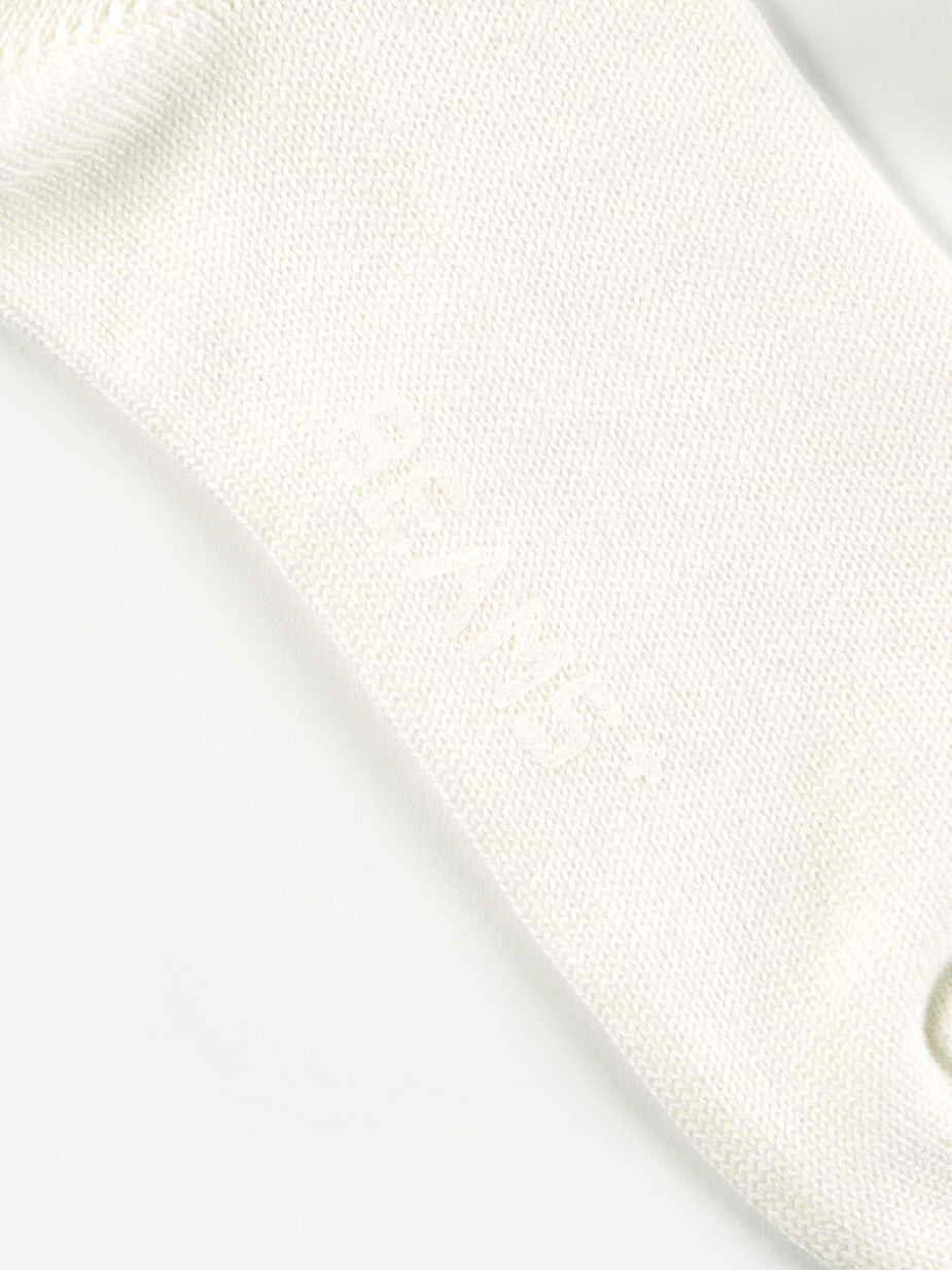 Beams Plus Beams Plus School Boy Socks - White/Navy - White