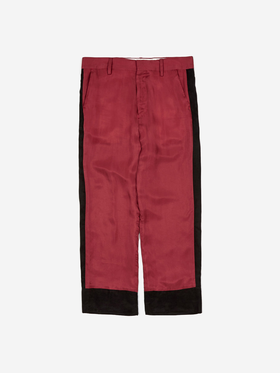 Black Weirdos Black Weirdos Bowling Pants - Red - Red