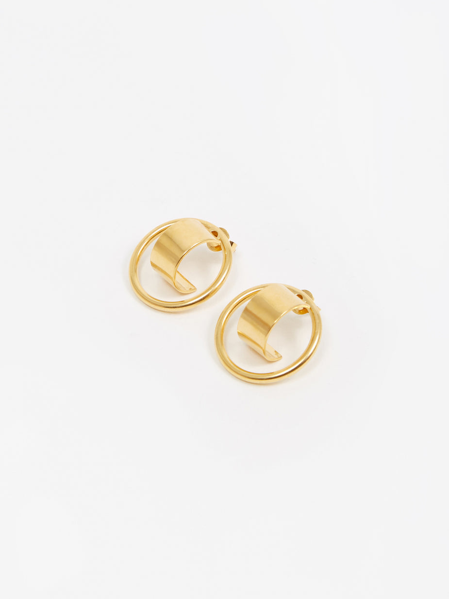 The Boyscouts The Boyscouts Atlas Earring (Pair) - Gold - Gold