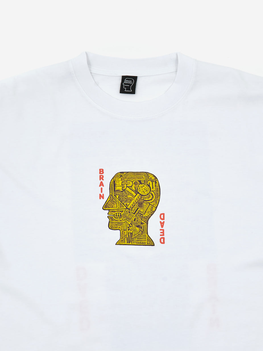 Brain Dead Brain Dead Dream Home Shortsleeve T-Shirt - White - White