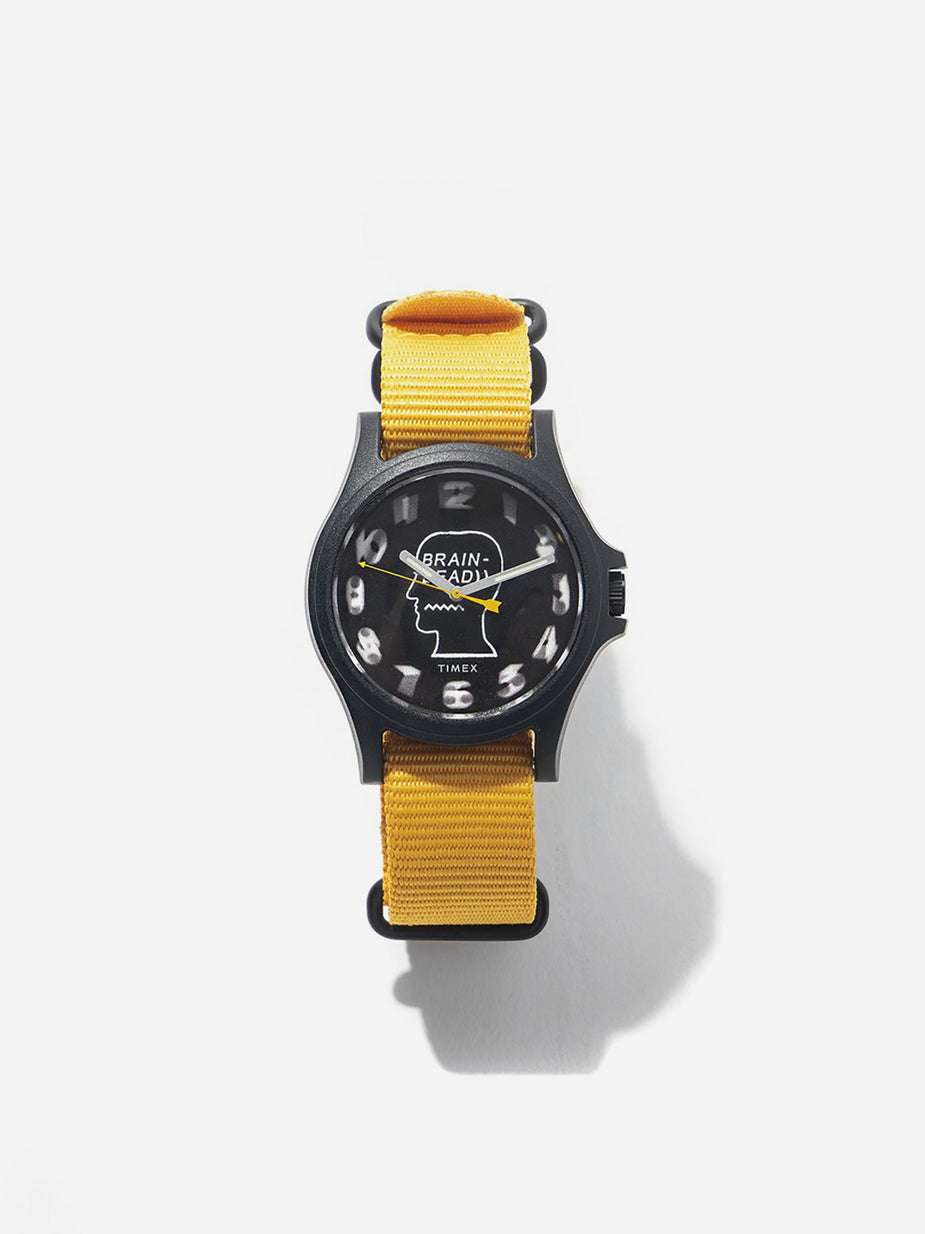 Brain Dead Brain Dead x Timex Model TWG021900 - Black/Green/Yellow - Yellow