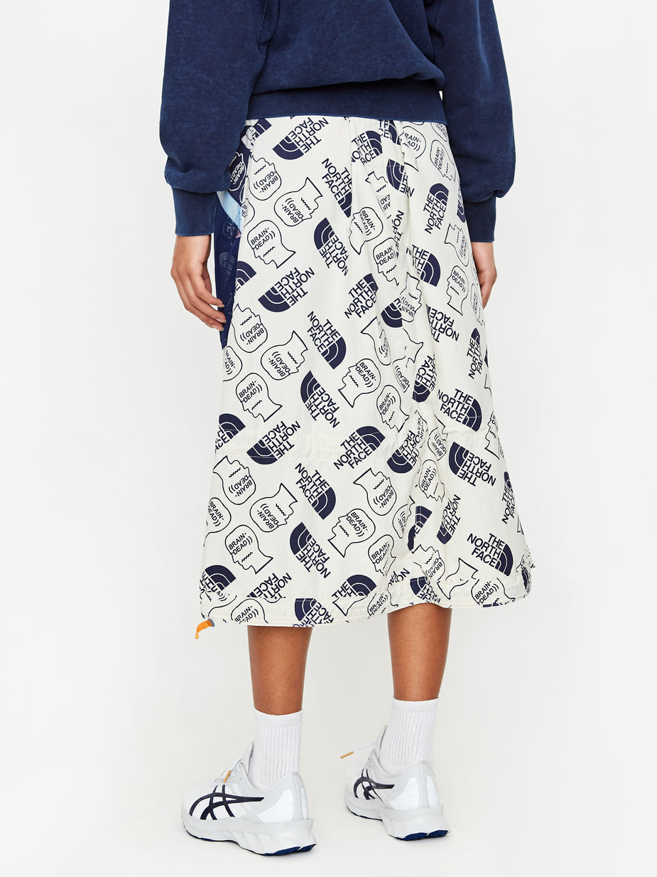 Brain Dead Brain Dead x The North Face Tech Skirt - Vintage White/ TNF Navy - White