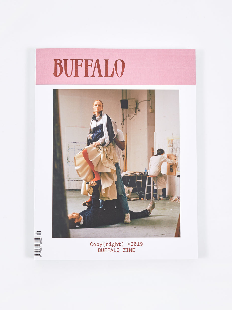Buffalo Zine Buffalo Zine - Issue 9 SS 2019 - White