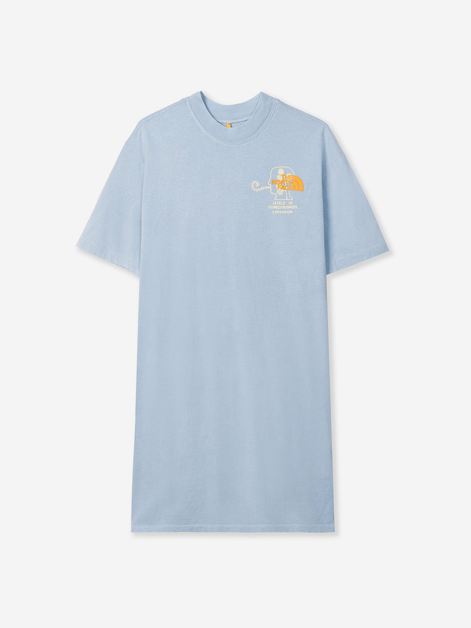 Brain Dead Brain Dead x The North Face Shortsleeve T-Shirt Dress - Clear Lake Blue - Blue