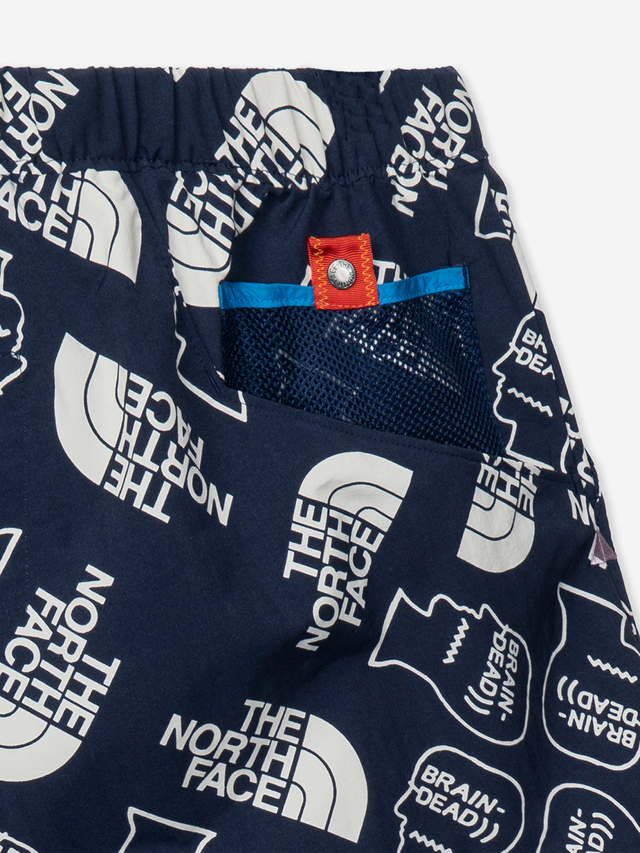 Brain Dead Brain Dead x The North Face Baggy Climber Short - TNF Navy/Vintage White - Navy
