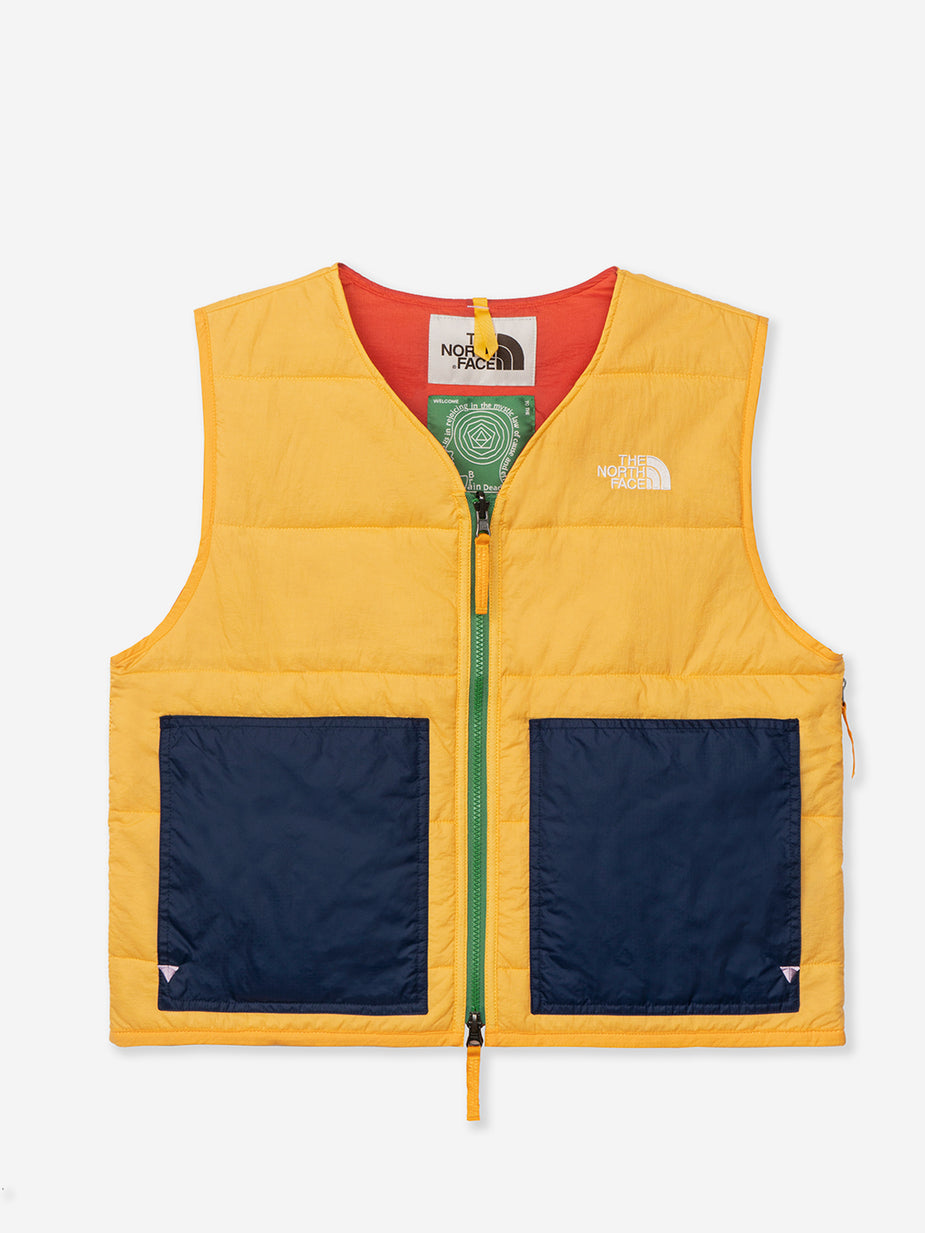Brain Dead Brain Dead x The North Face Sierra Vest - TNF Yellow - Yellow