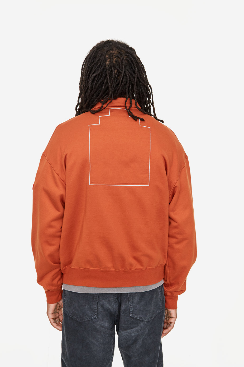 Cav Empt C.E Cav Empt Collared Light Zip Sweatshirt - Brown - Brown