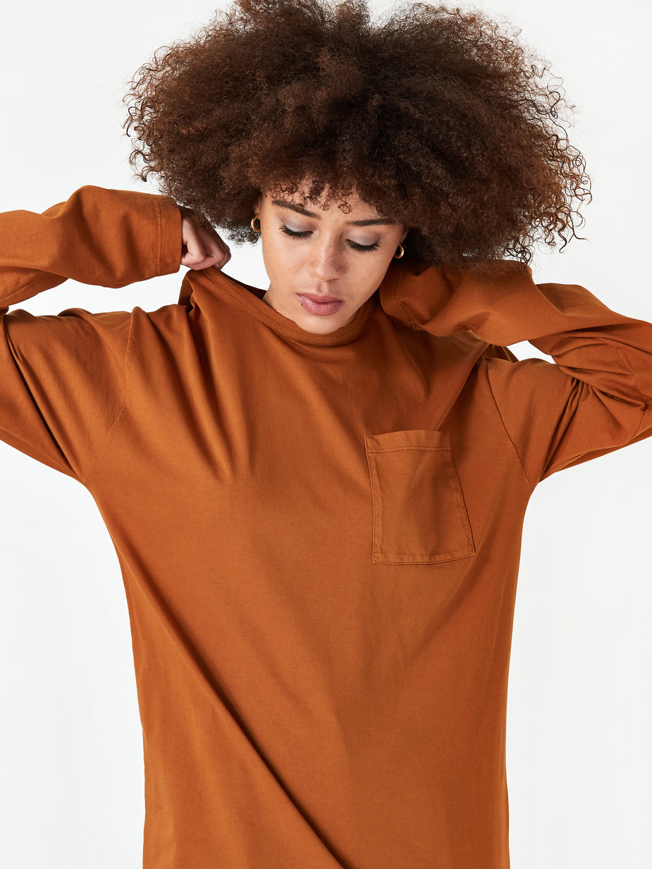 Can Pep Rey Can Pep Rey Unisex Longsleeve T-Shirt - Glazed Ginger