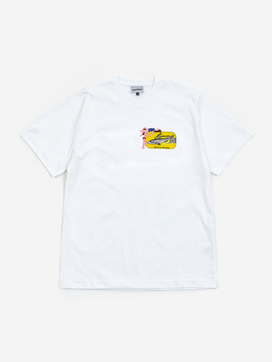 Carne Bollente Carne Bollente Lick As You Can Shortsleeve T-Shirt - White - White