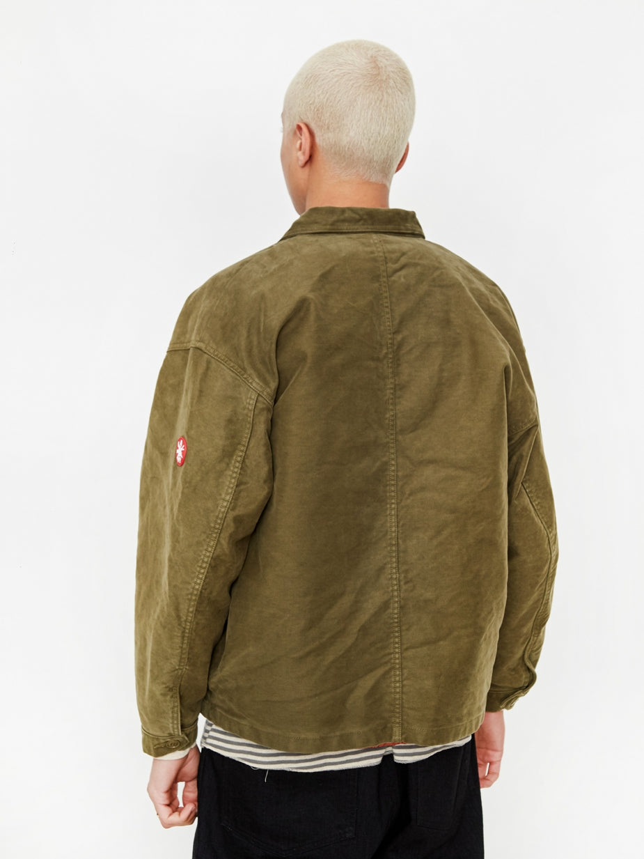 Cav Empt C.E Cav Empt Covered Insulation Jacket - Green - Green