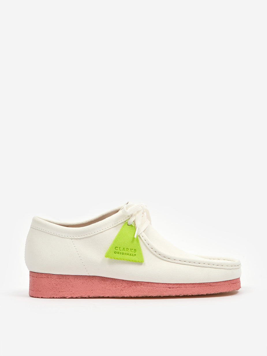 Clarks Originals Clarks Wallabee - Bright White - White