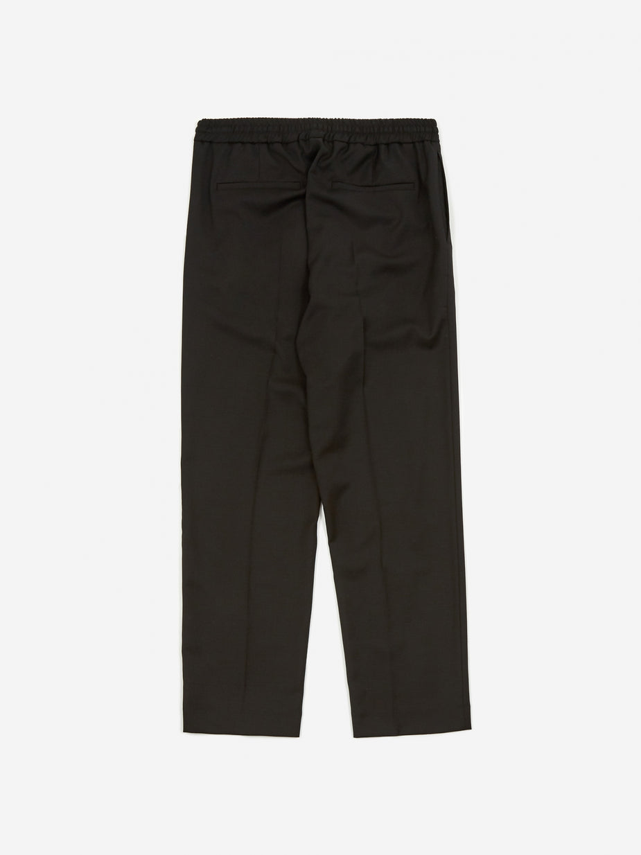 CMMN SWDN CMMN SWDN Stan Tapered Drawstring Trouser - Black - Black