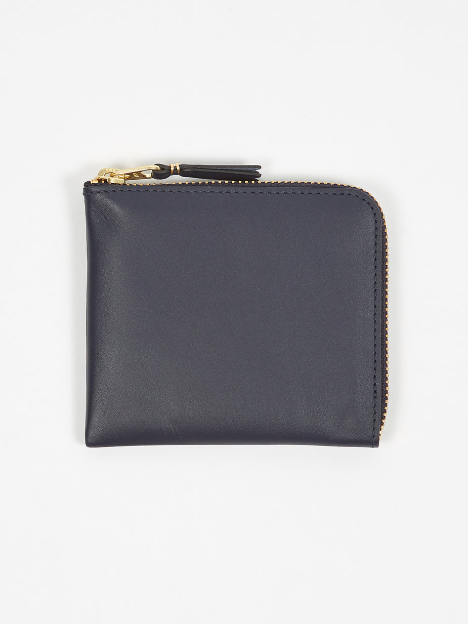 Comme des Garcons Wallets Comme des Garcons Wallets Classic Leather (SA3100) - Navy - Blue