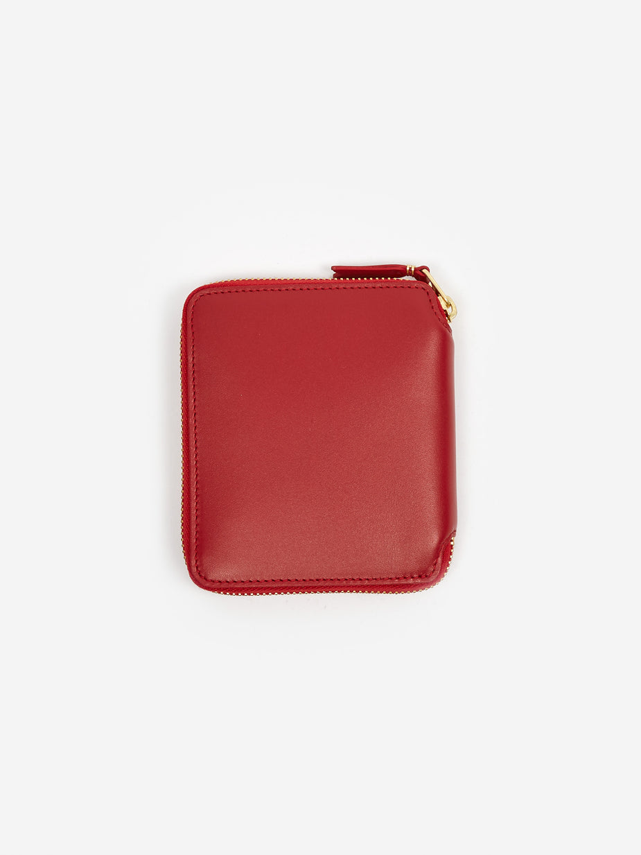 Comme des Garcons Wallets Comme Des Garcons Wallets Classic Leather M - (SA2100) - Red - Red