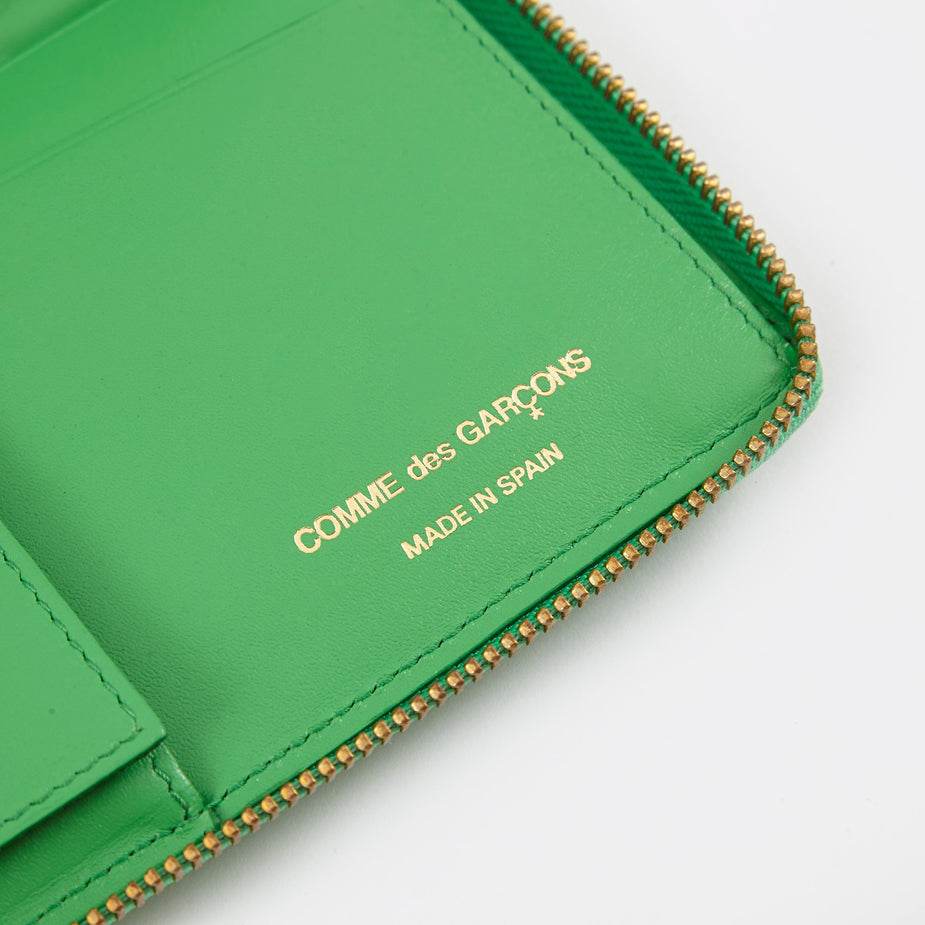 Comme des Garcons Wallets Comme Des Garcons Wallets Classic Leather L (SA0110) - Green