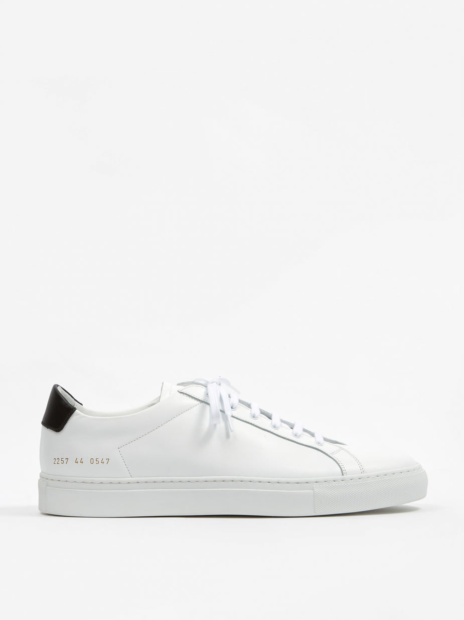 Common Projects Common Projects Achillies Retro Low - Black - Black
