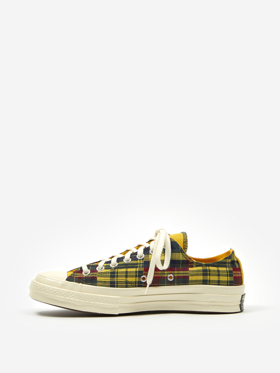 Converse Converse Chuck All Star 70 Twisted Prep Woven Ox - Amarillo/Faded Spruce - Yellow