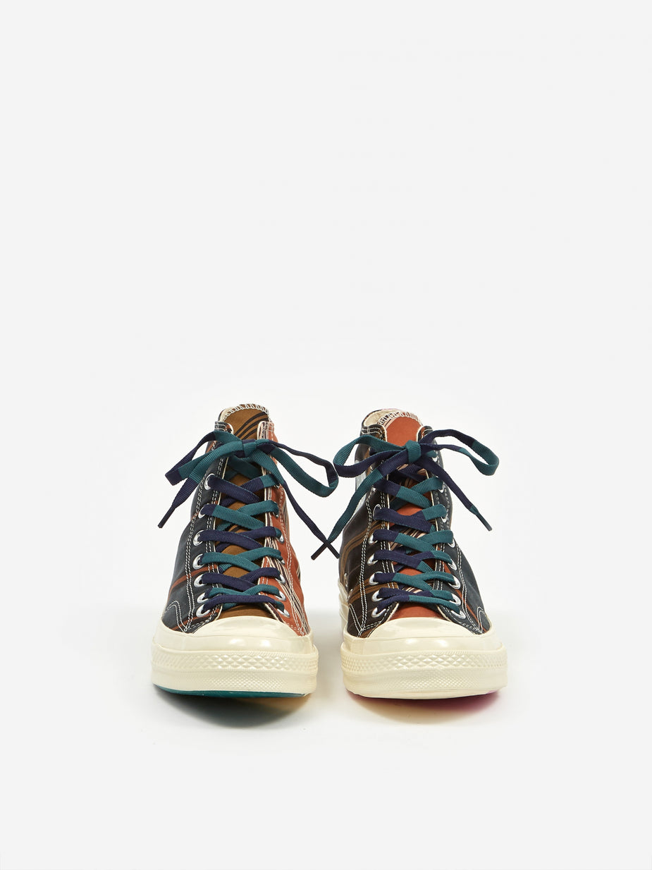 Converse Converse Chuck Taylor 70 Pinnacle Varsity Hi - Green/Orange/White - Orange