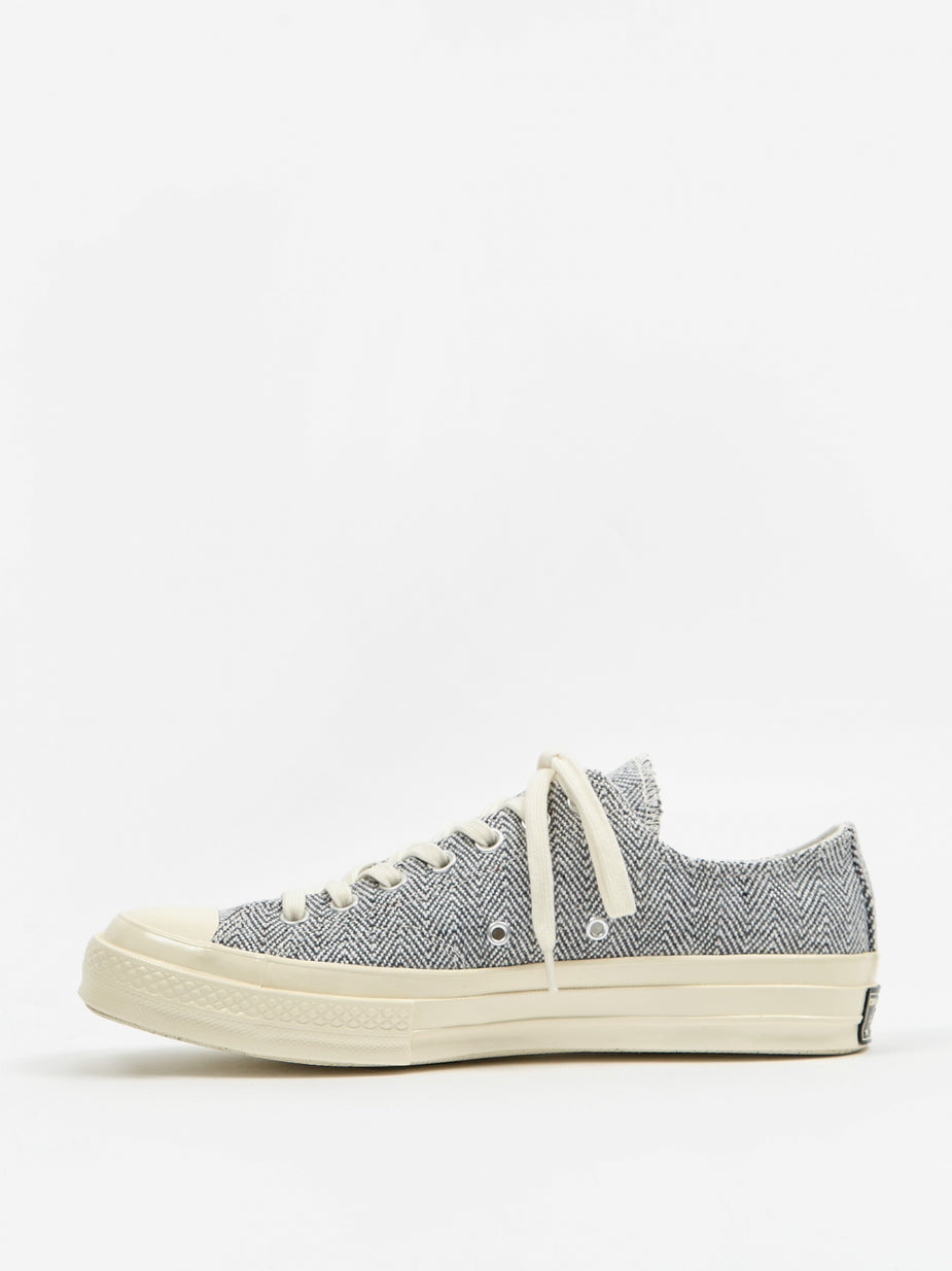 Converse Converse Chuck Taylor All Star 70 Recycled Canvas - Black/White/Egret - Black
