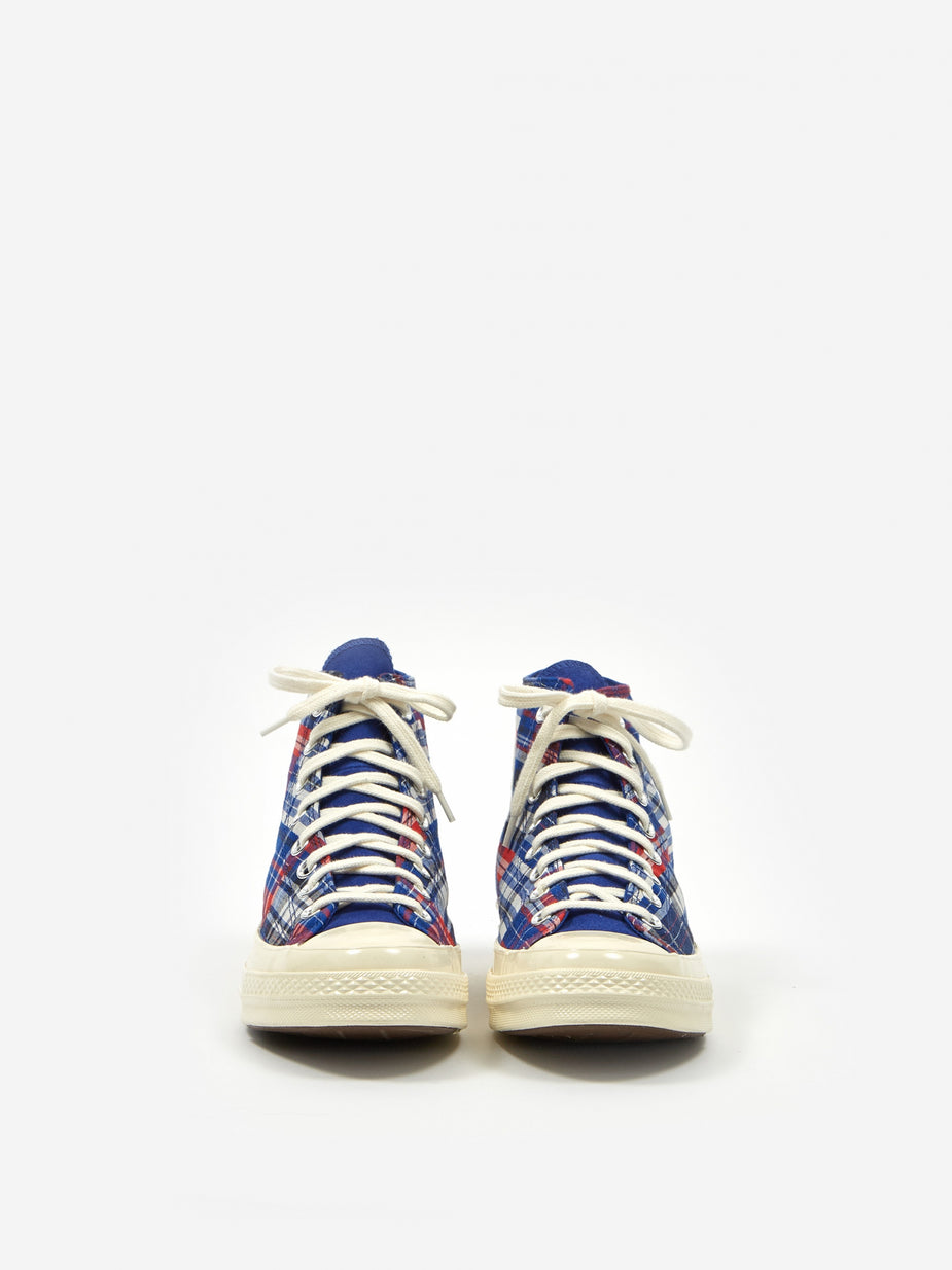 Converse Converse Chuck Taylor All Star 70 Twisted Prep Woven Hi - Rush Blue/Universeity Red - Red