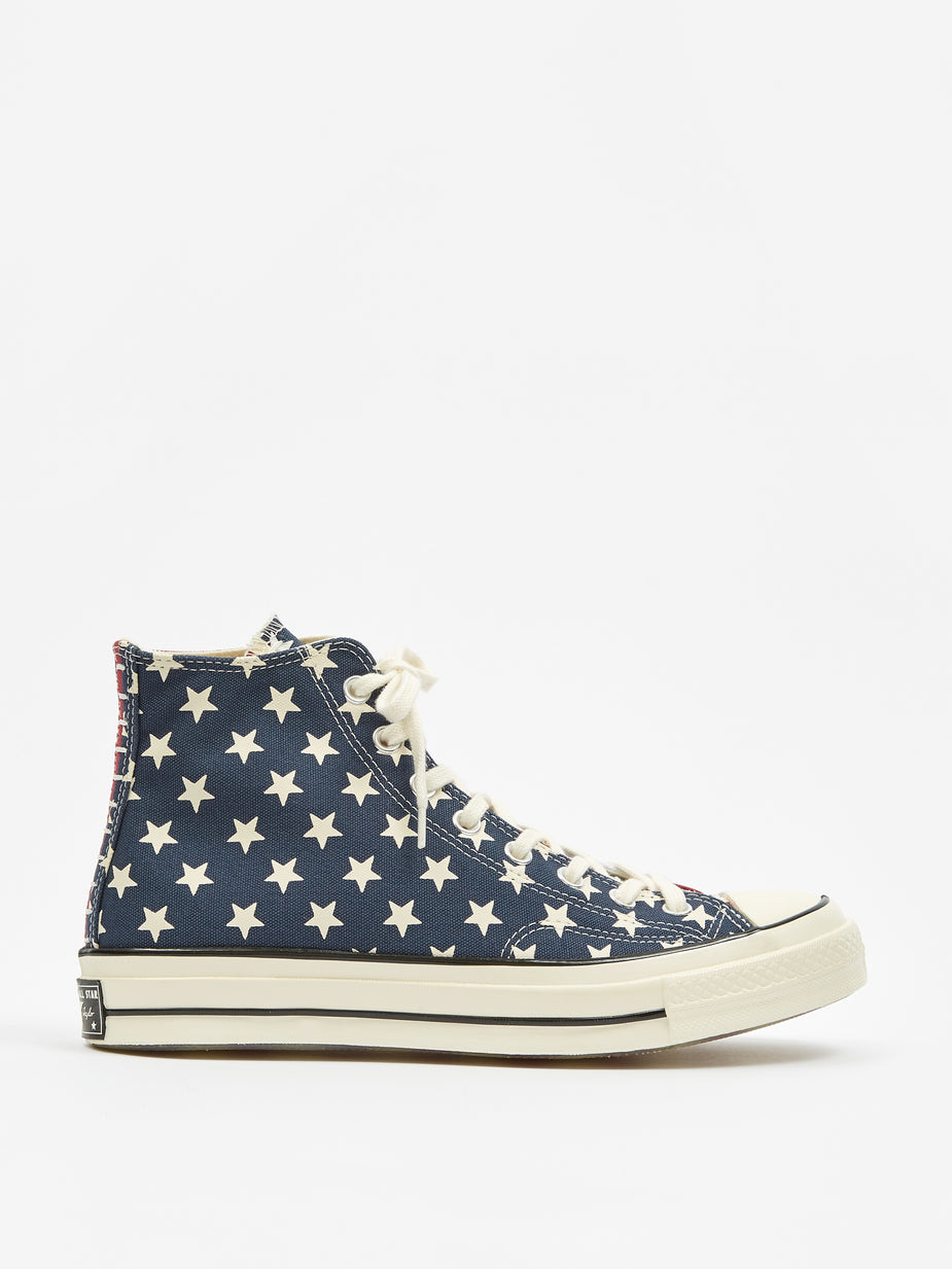 Converse Converse Chuck Taylor Hi 70 Archive Restructured - Red/White/Blue - Red