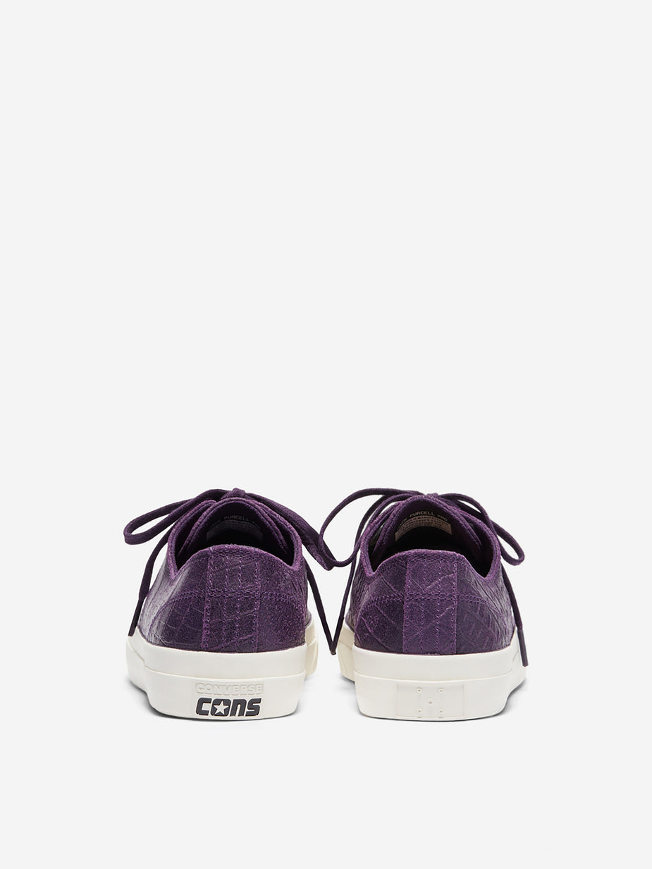 Converse Converse x Pop Trading Company Jack Purcell Ox - Grand Purple/Black/Egret - Purple