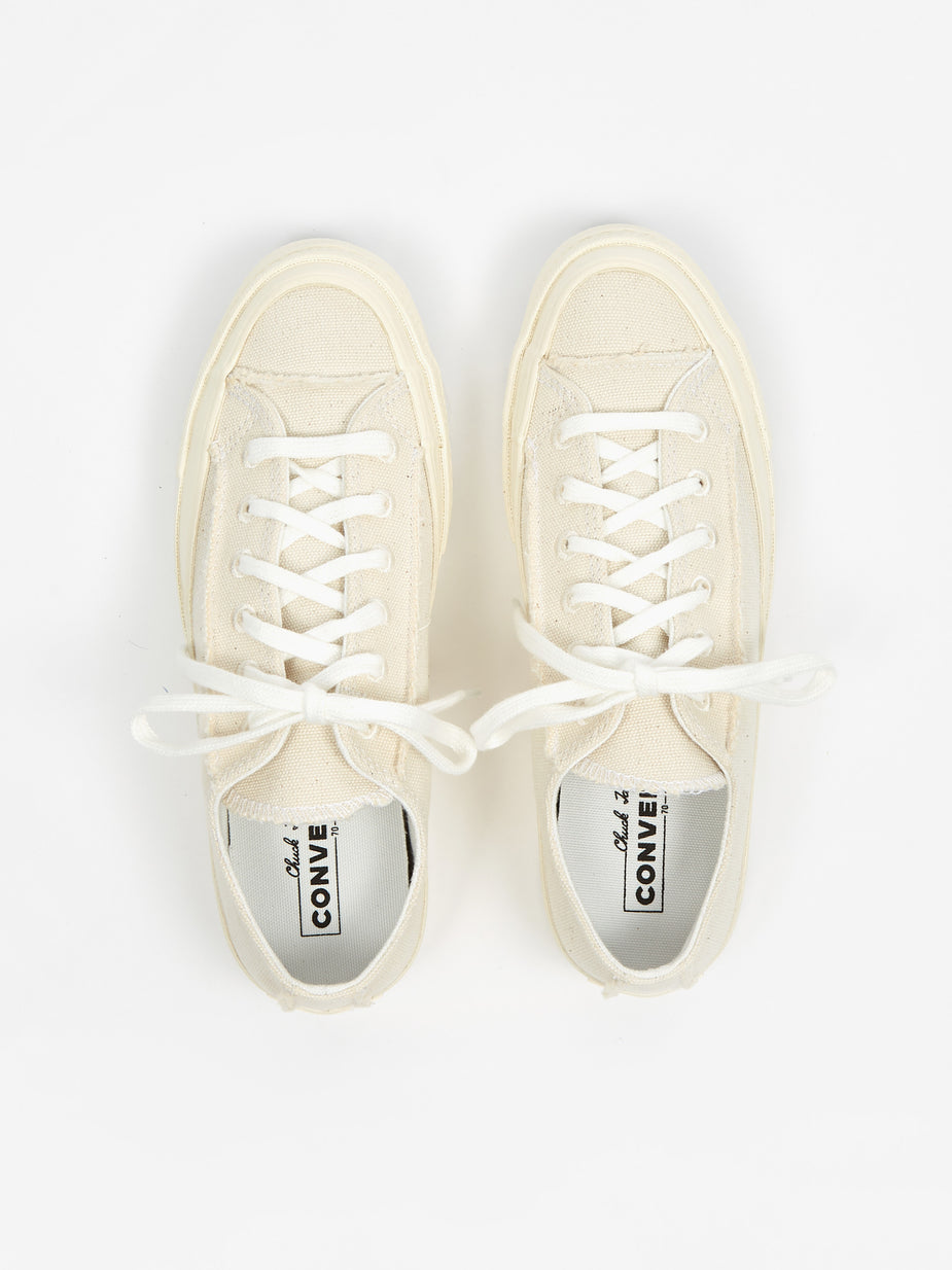 Converse Converse Renew Cotton Chuck Taylor 70 Ox - Egret/Natural/Egret - White