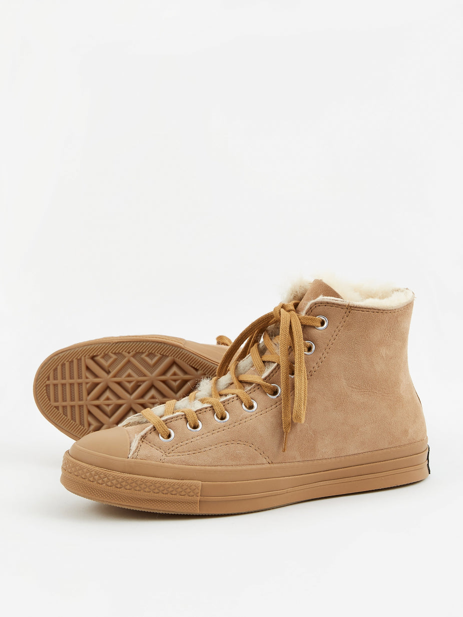 Converse Converse Shearling Chuck Taylor 70 Hi - Iced Coffee