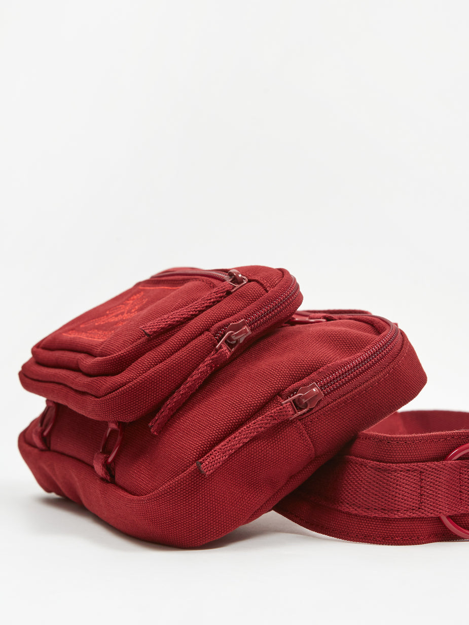 Eastpak Eastpak x Raf Simons Padded Loop Waistbag - Burgundy - Red