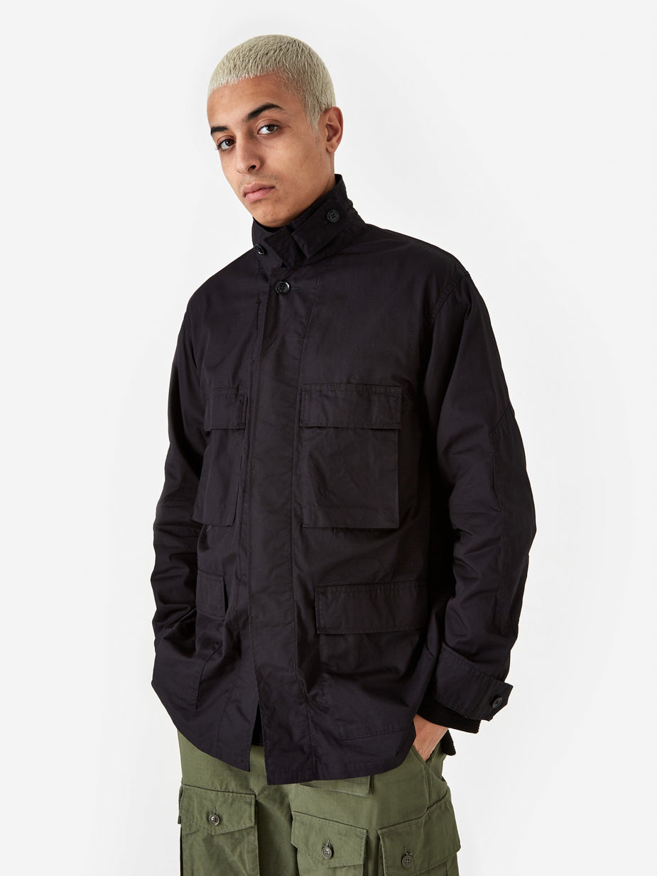 Engineered Garments Engineered Garments BDU Jacket - Black - Black
