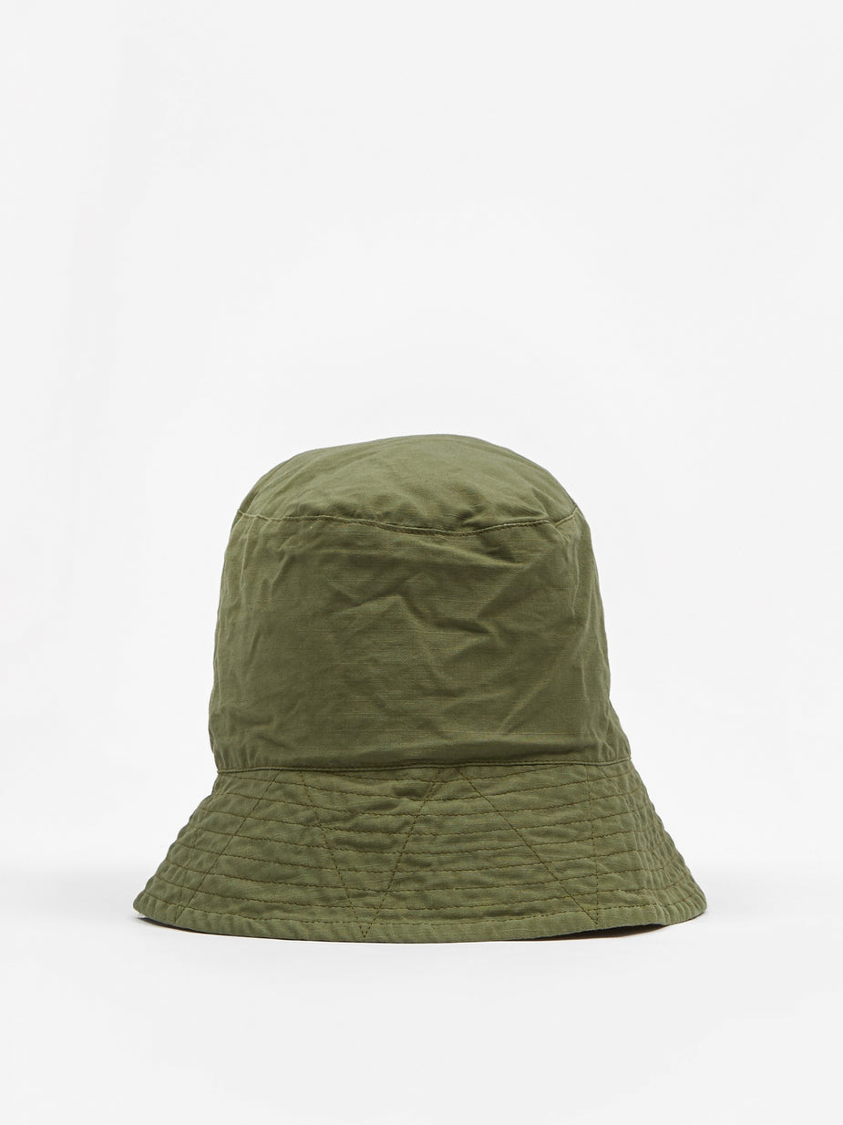 Engineered Garments Engineered Garments Bucket Hat - Olive - Green