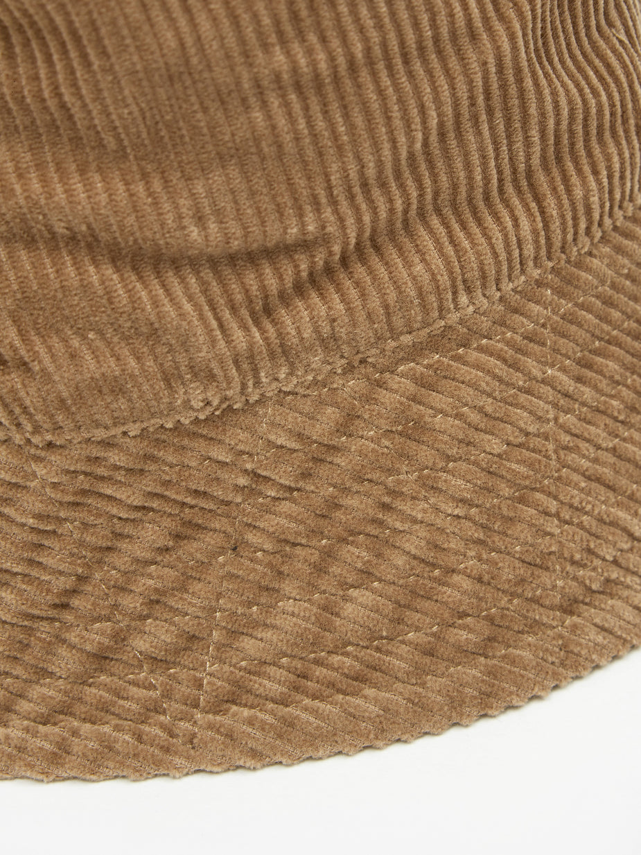 Engineered Garments Engineered Garments Bucket Hat - Khaki Corduroy - Green