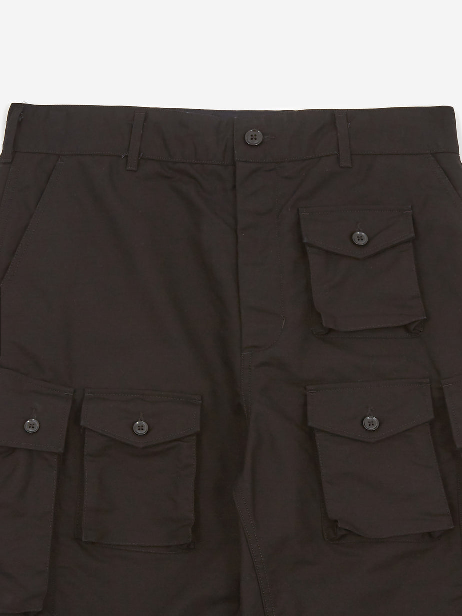 Engineered Garments Engineered Garments Painter Pant - Black Double Cloth - Black