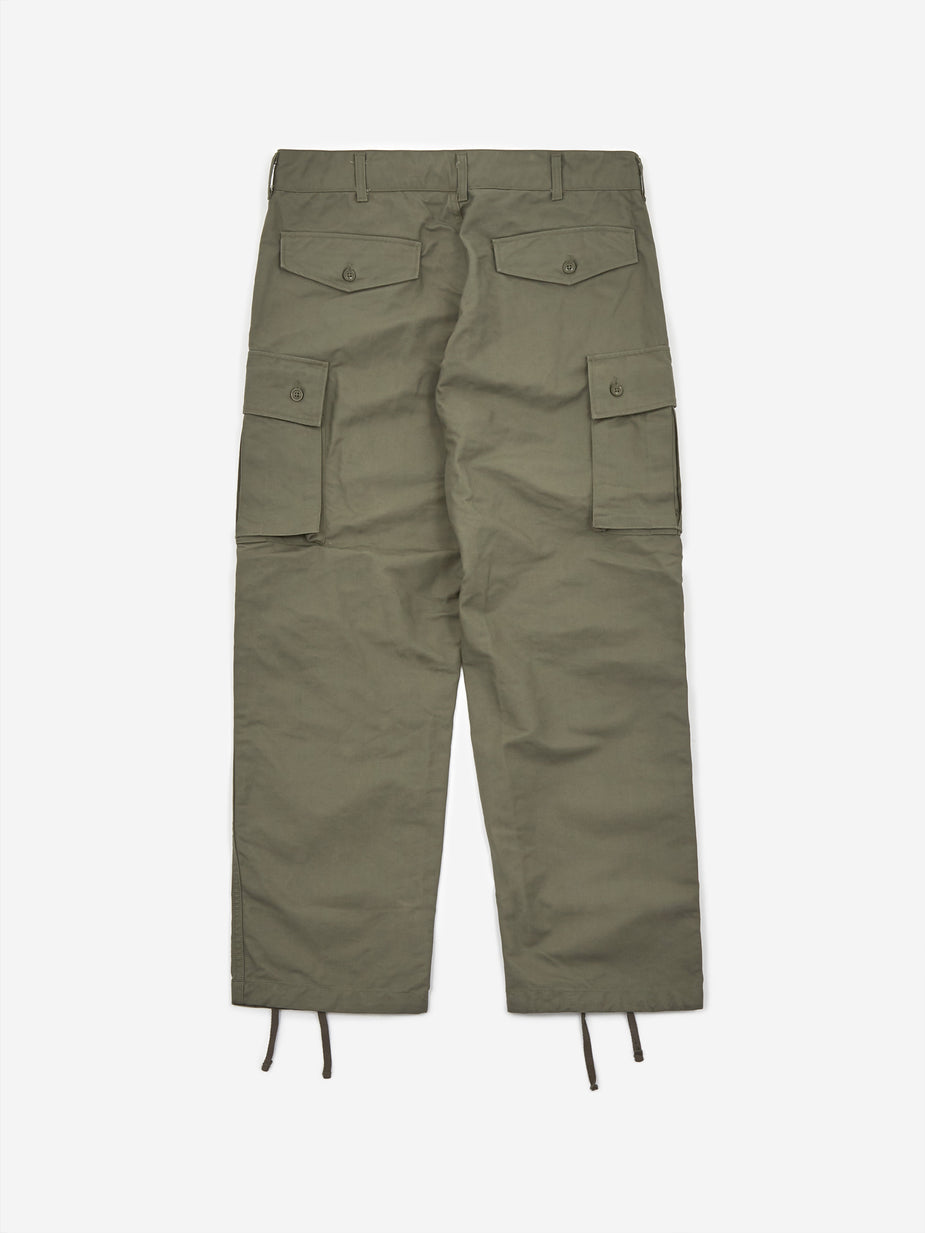 Engineered Garments Engineered Garments Painter Pant - Olive Double Cloth - Green