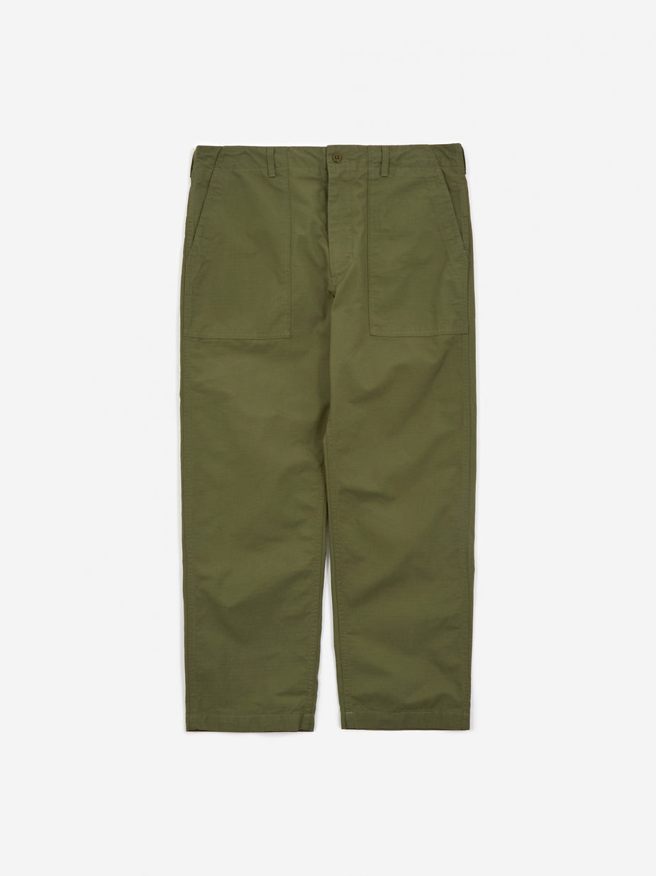 Engineered Garments Engineered Garments Ripstop Fatigue Pant - Olive - Green