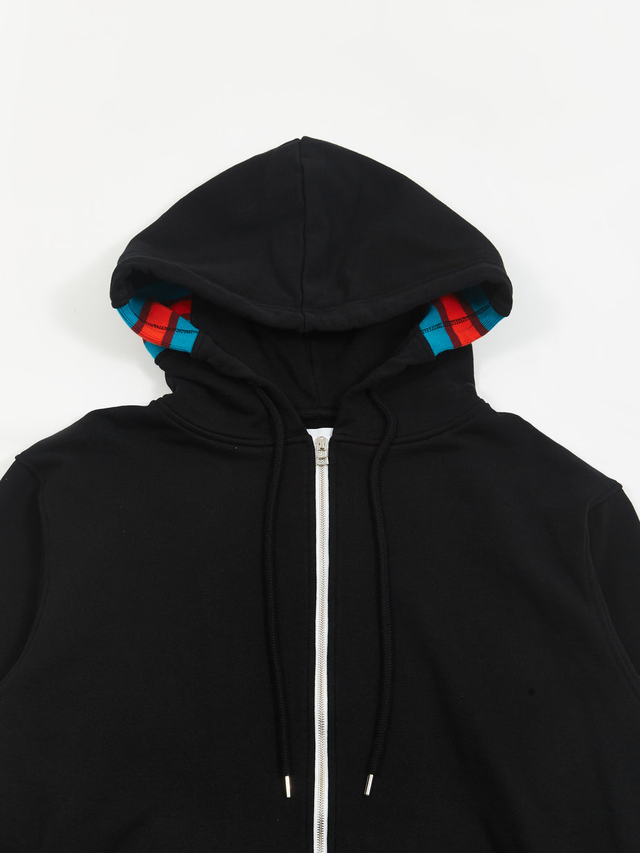 Facetasm Facetasm Hooded Sweatshirt - Black - Black