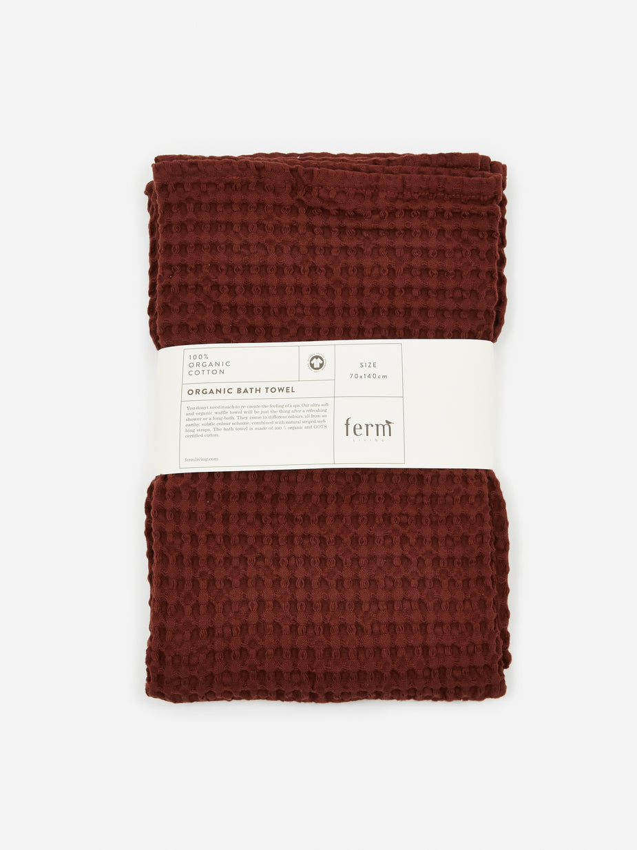 Ferm Living Ferm Living Organic Bath Towel - Cinnamon - Other