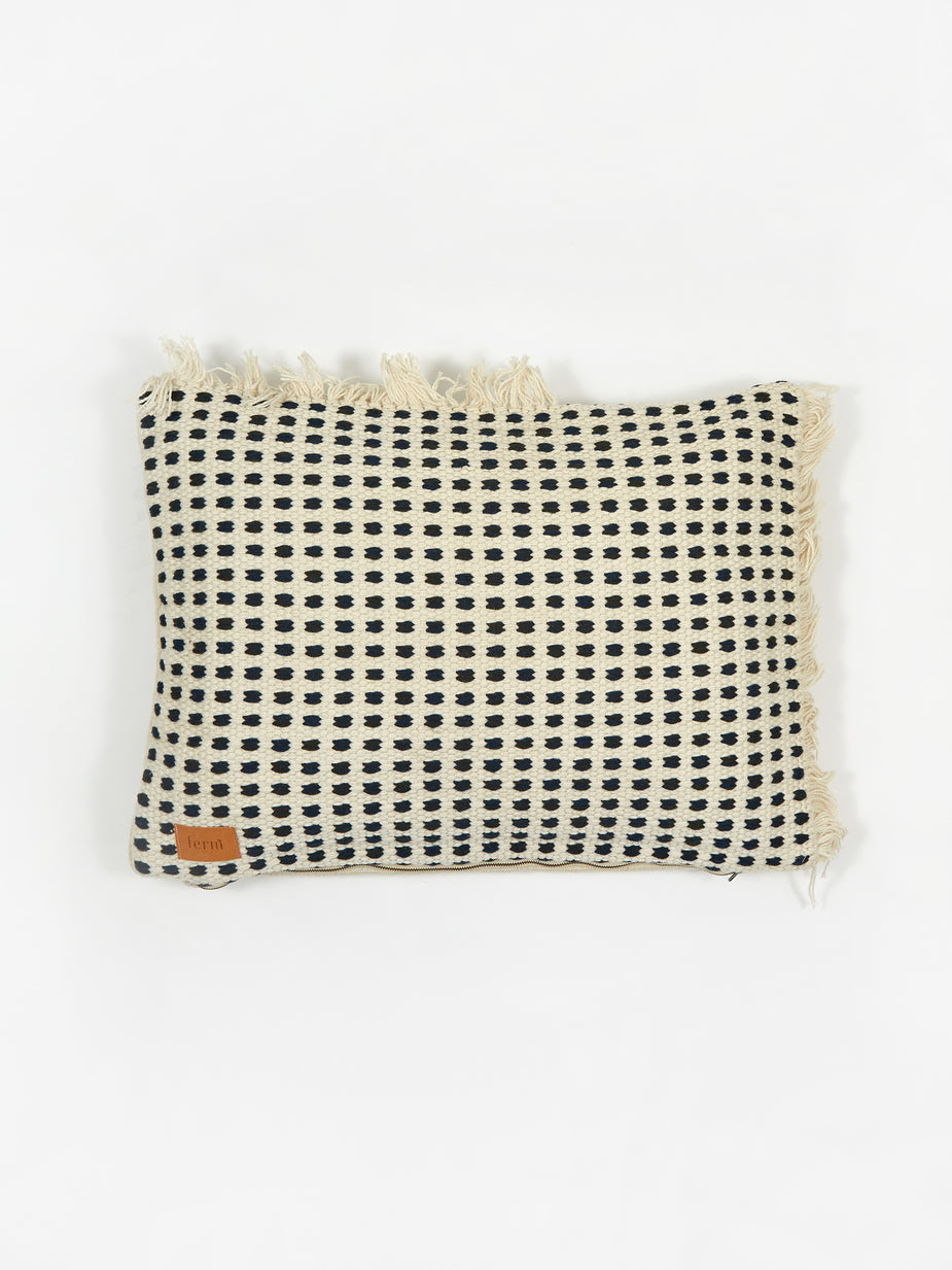 Ferm Living Ferm Living Way Cushion 70x50cm - Off - Off-White/Blue - Other