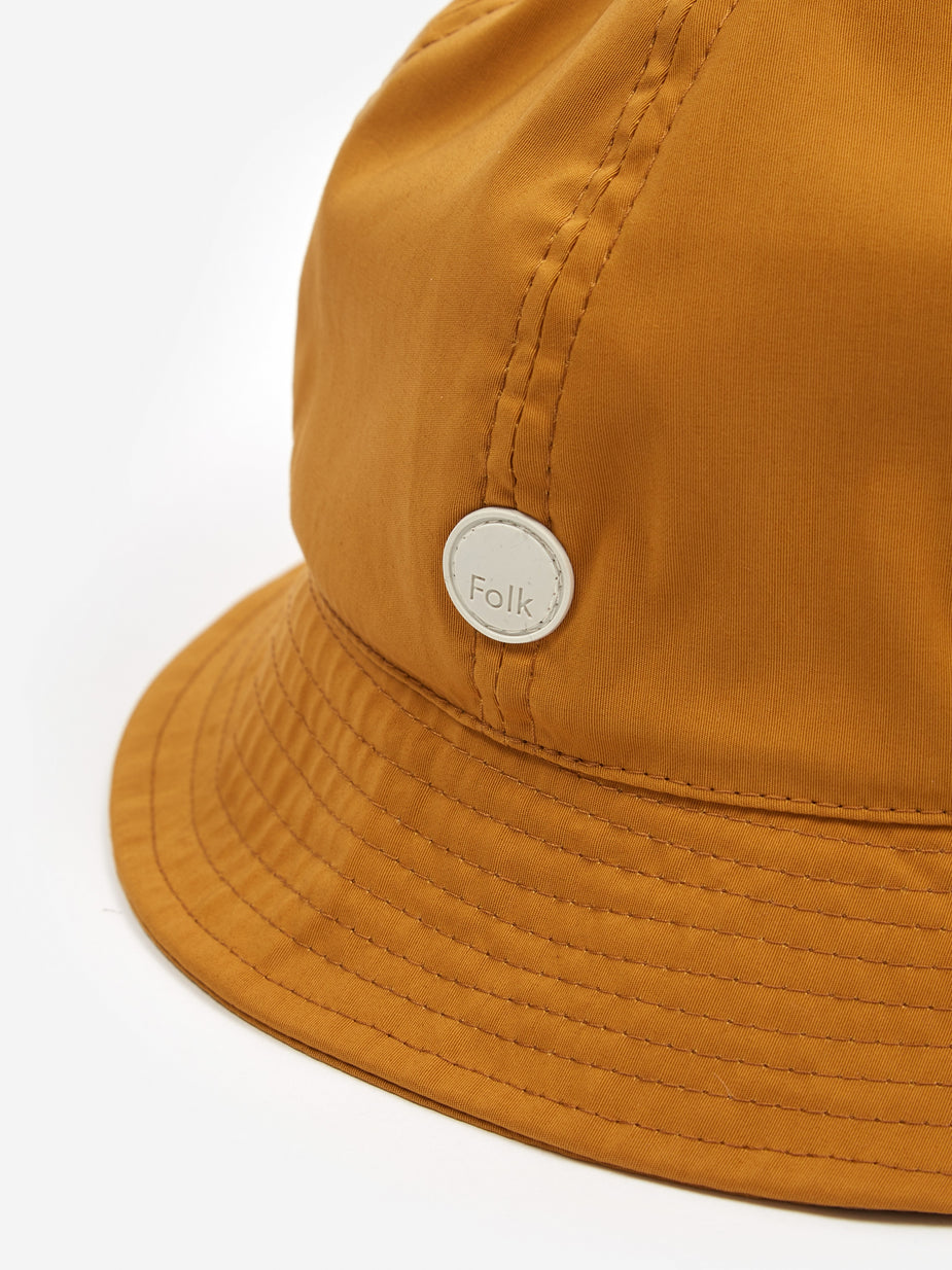 Folk Folk Bucket Hat - Mustard - Yellow