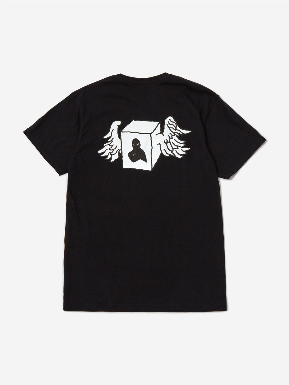 Fucking Awesome Fucking Awesome Box Wings Shortsleeve T-Shirt - Black - Black