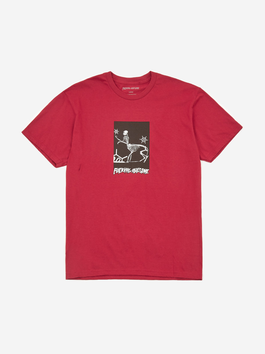 Fucking Awesome Fucking Awesome Centaur Shortsleeve T-Shirt - Sport Scarlet Red - Red