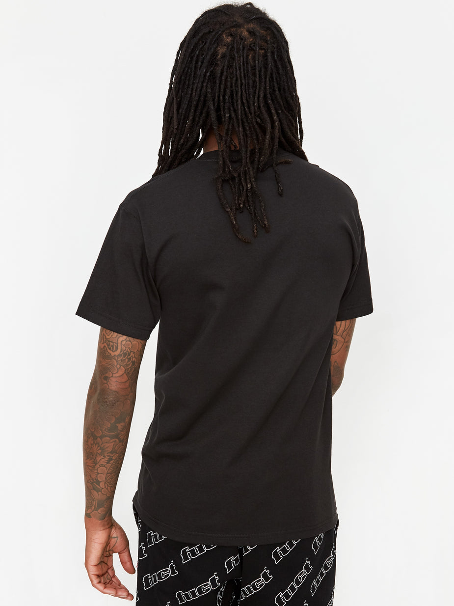 Fuct Fuct Not Worth Saving Shortsleeve T-Shirt - Black - Black