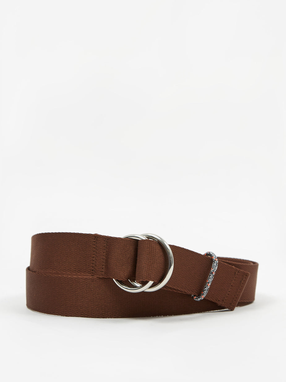 Ganni Ganni Webbing Belt - Chicory Coffee - Purple