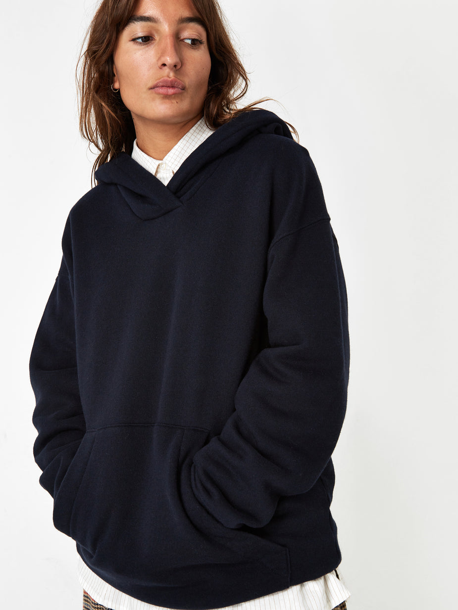Girls Of Dust Girls Of Dust Fleece Hoodie - Navy - Blue