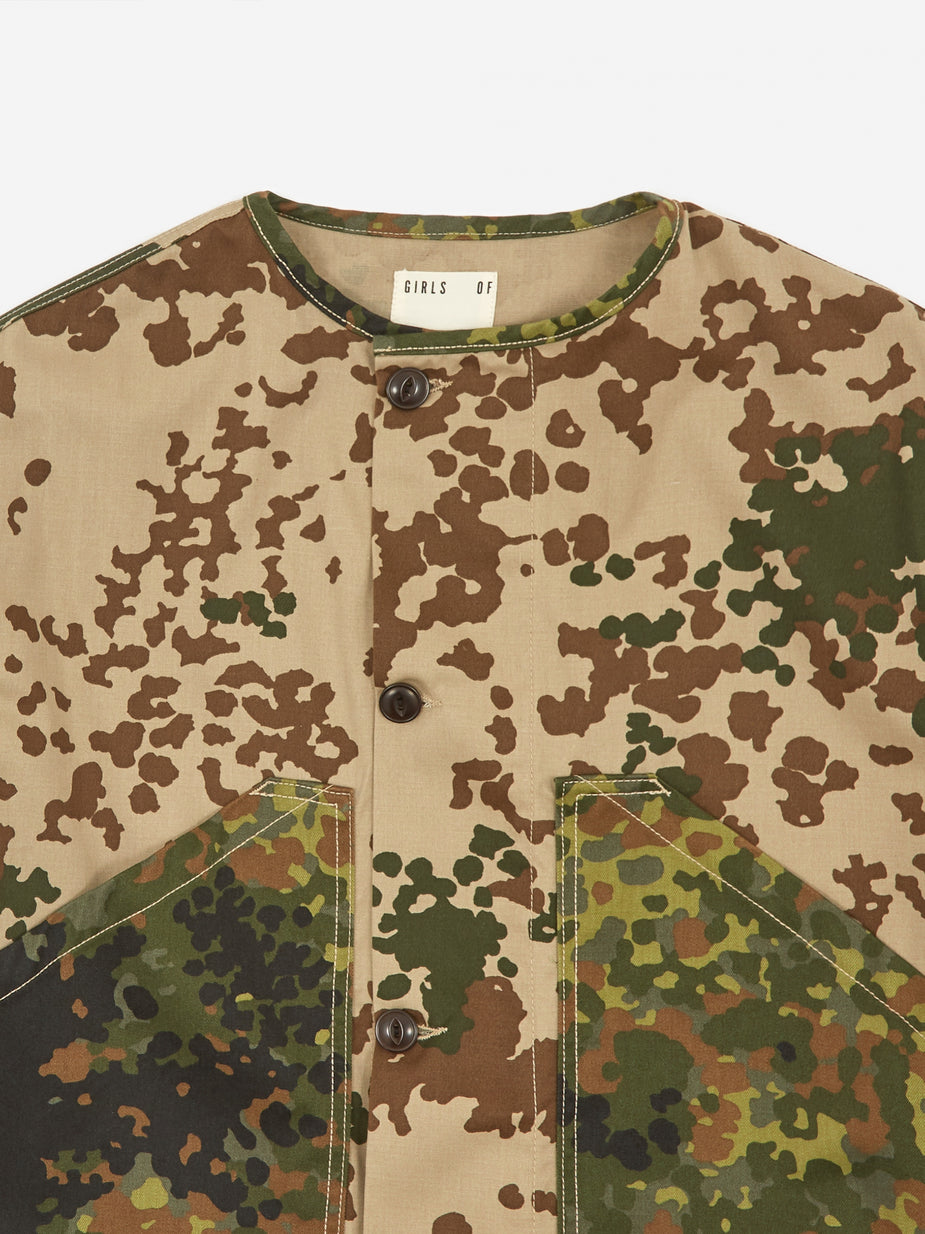 Girls Of Dust Girls Of Dust Nuclear Jacket Sahara Camo - Multi -