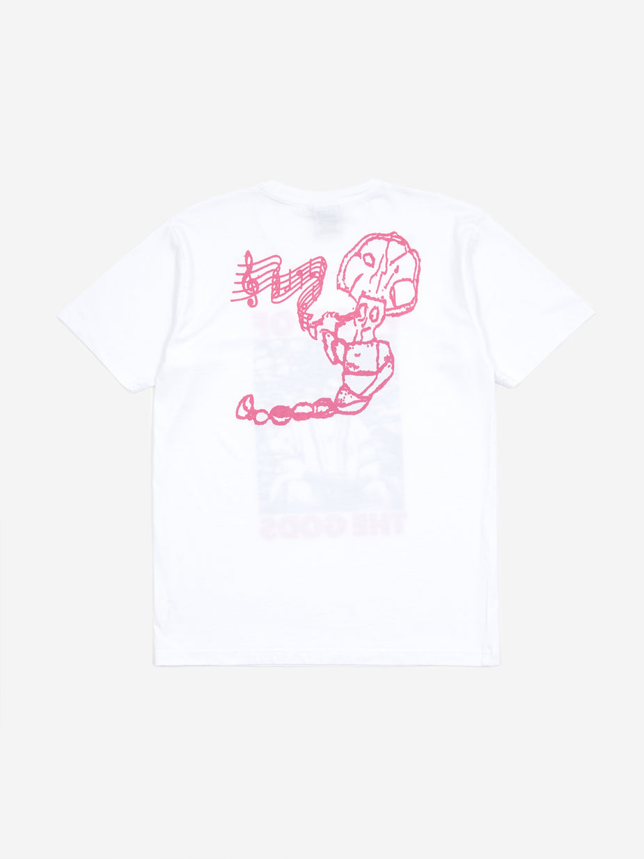 Good Morning Tapes Good Morning Food Of The Gods Shortsleeve T-Shirt - White - White