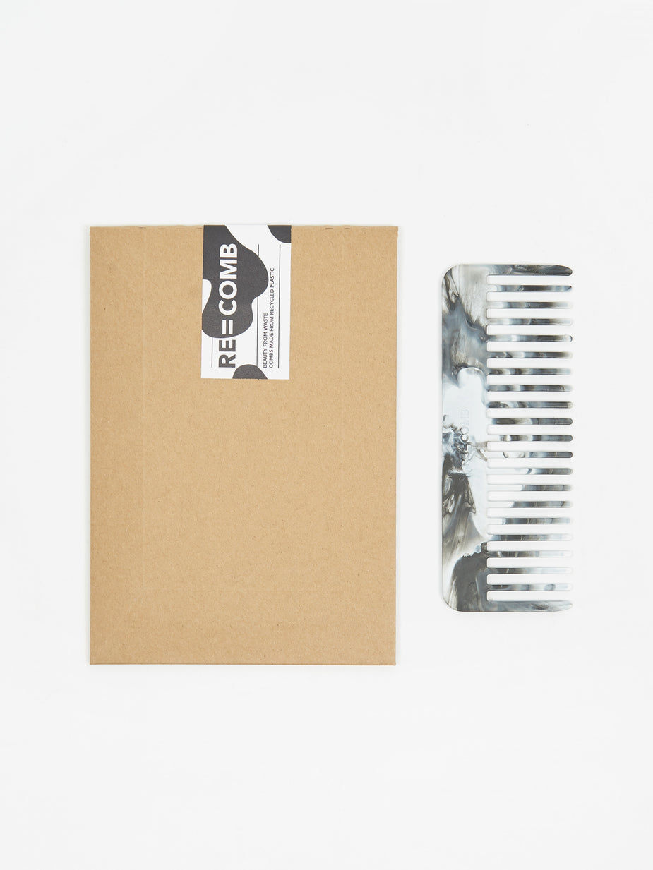 RE=COMB RE=COMB x Goodhood Recycled Plastic Hair Comb - Cow Print - Multi