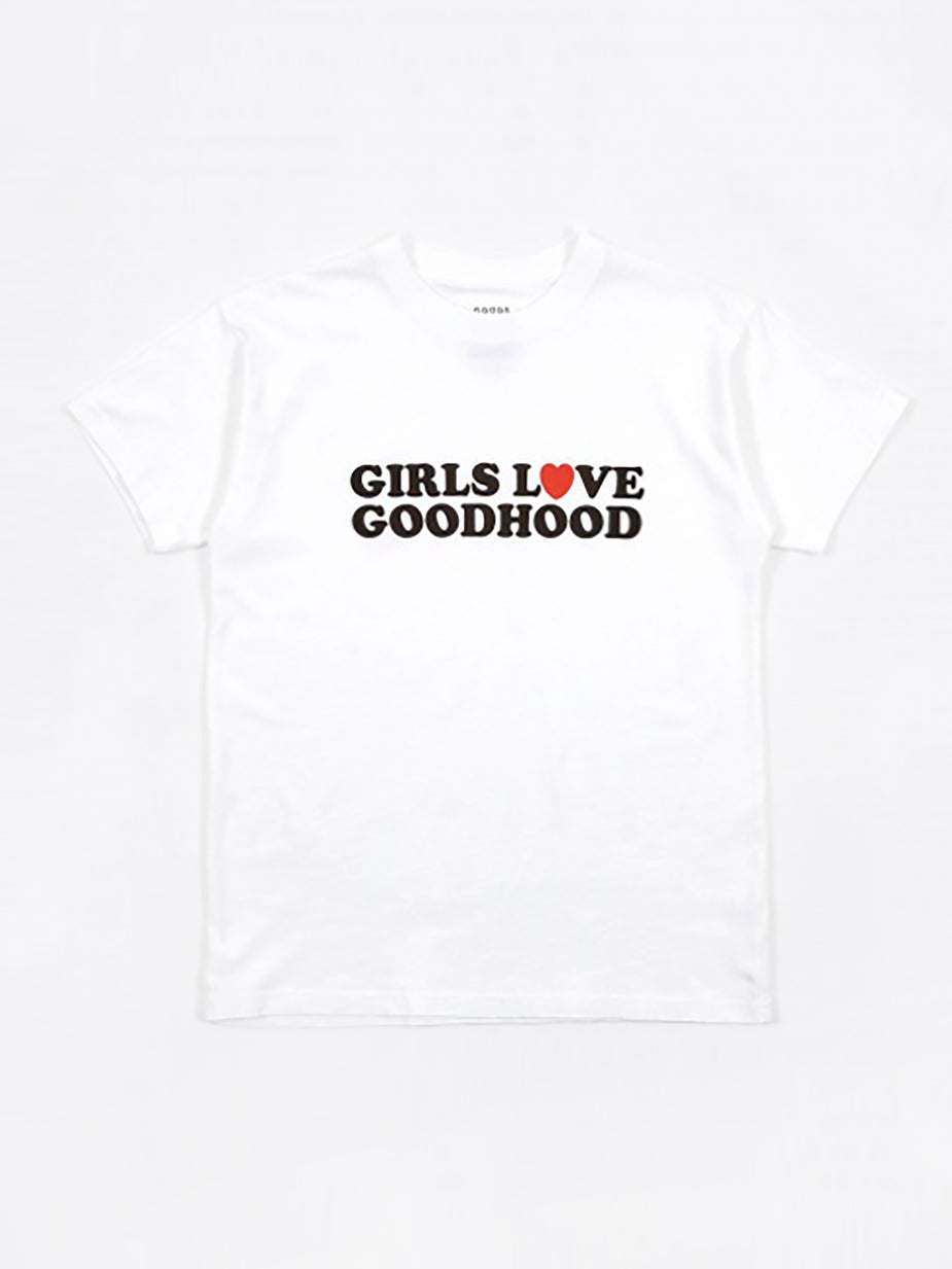 Goods By Goodhood Goods by Goodhood Girls Love Goodhood Tee - White - White