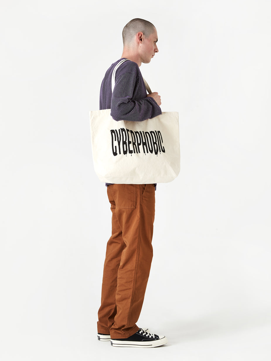 Goods By Goodhood Goods by Goodhood Cyberphobic Tote Bag - Natural - Neutrals